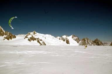 03-snowkite davanti al Plan