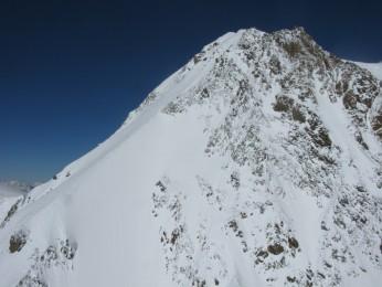 Punta Parrot, via Gabbio-Cavanna à ski