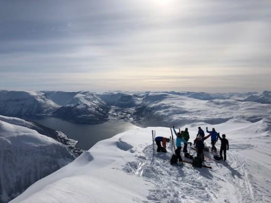 Scialpinismo in Norvegia - Lyngen