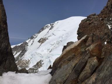 La ovest del Monte Bianco