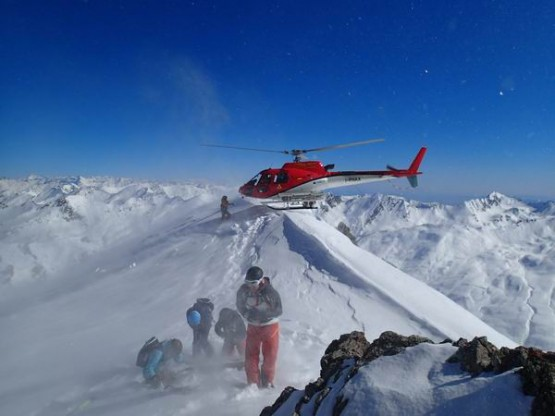 Heliski trips - season 2016-17