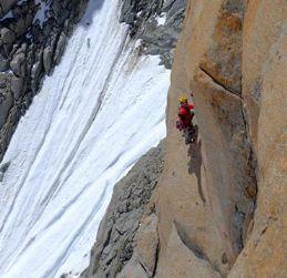 Il granito del Monte Bianco