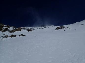 Snowkite - punta Lamet